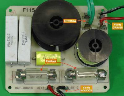 Filtro pasivo pf115 cenital-reducida