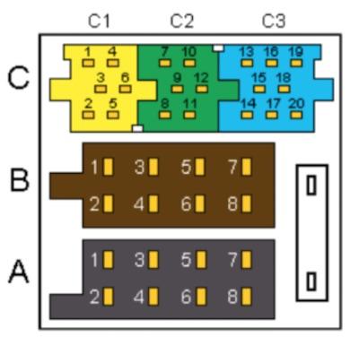 conector ISO 10487