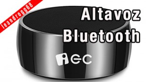 Altavoz bluetooth IEC Technology