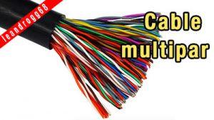 Cable multipar - EL CAJÓN DEL ELECTRÓNICO
