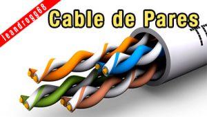 Cable de pares - EL CAJÓN DEL ELECTRÓNICO