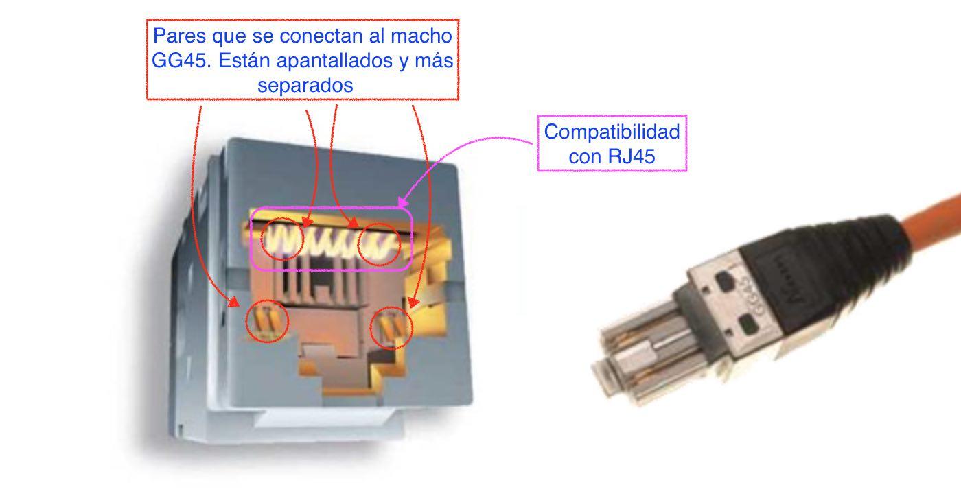 Conector GG45 - EL CAJÓN DEL ELECTRÓNICO