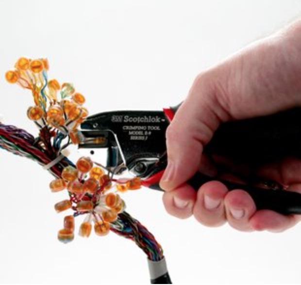 Empalme de hilos en cable multipar - EL CAJÓN DEL ELECTRÓNICO
