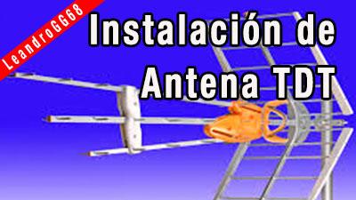 Instalación  de Antena TDT